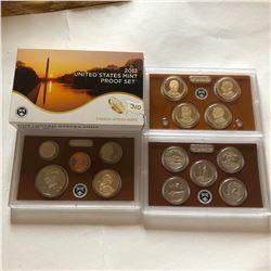 2013 S DCAM Proof Set in Original Box 14 Total Coins