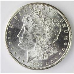 1891-S MORGAN DOLLAR