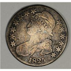 1825 BUST HALF DOLLAR