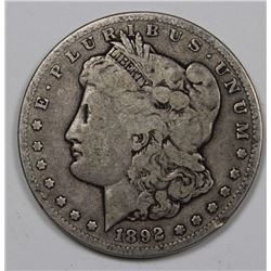 1892 CC MORGAN DOLLAR