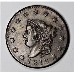 1816 LARGE CENT AU/UNC
