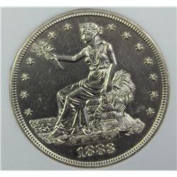 1883 TRADE DOLLAR