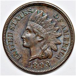 1893 INDIAN CENT