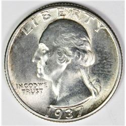 1937 WASHINGTON QUARTER