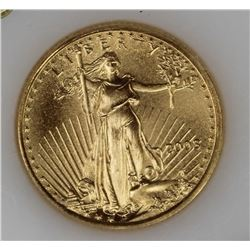 2003 1/10 OZ GOLD AMERICAN EAGLE