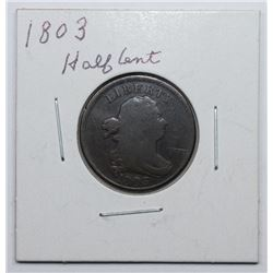 1803 HALF CENT