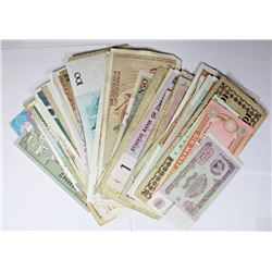 100 PCS.FOREIGN CURRENCY