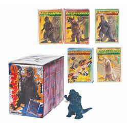 Godzilla Wind Up Go 1 & 2 Boxed Toys