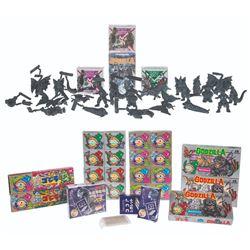 Cigarette Candy/Kaiju Card, 40th Anniversary Candy & Godzilla World Sets
