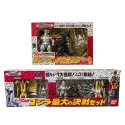 Boxed Bandai TOHO GODZILLA KAIJU Lot