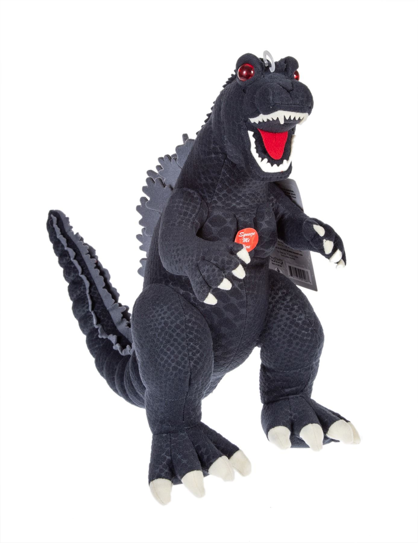 Ty Puppies Stuffed Animals, Toy Vault Plush Figure 13 Godzilla 1954 W Tag 50th Anniversary Light Sound