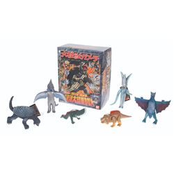 Bandai GAMERA Memorial Box 7 Figure Set