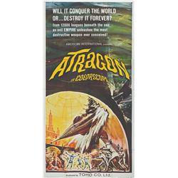 ATRAGON 1965 US 3-Sheet Poster