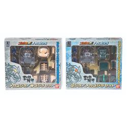 Bandai GODZILLA & MECHAGODZILLA Boxed Magnet Figures Set of 2