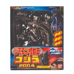 Bandai GODZILLA 2005 Remote Control Figure Boxed