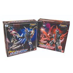 Bandai GIGAN 2005 Diecast GD-76 Gigan Boxed Figure/DVD Release Version Figure