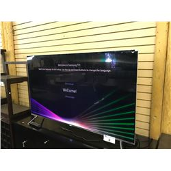 SAMSUNG 55'' SUHD QUANTUM DOT FLATSCREEN TV NO REMOTE