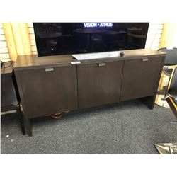 DARK OAK 3 DOOR 6' SIDEBOARD