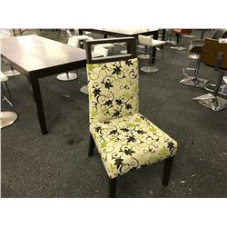 NATHAN ANTHONY AARON PATTERNED SIDE CHAIR