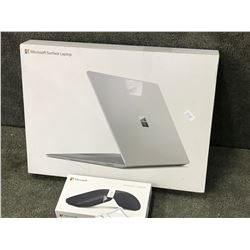 MICROSOFT SURFACE LAPTOP, AND ARC MOUSE