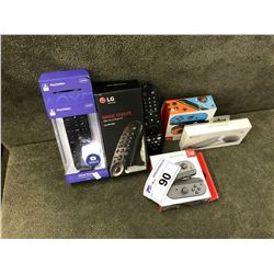 ASSORTED REMOTES AND CONTROLLERS INC. SWITCH, MICROSOFT, LG AND MORE