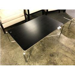 METRO DARK WOOD 4' X 2' COFFEE TABLE