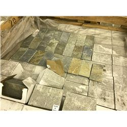LARGE QUANTITY OF ASSORTED SHADE BORDER TILES