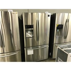 SAMSUNG STAINLESS STEEL FRENCH DOOR REFRIGERATOR WITH WATER/ICE DISPENSER