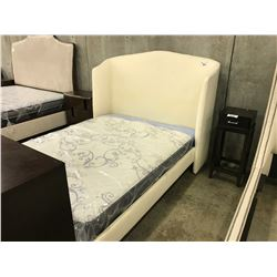 CISCO BROTHERS EMMA QUEEN HAMILTON SNOW QUEEN BED FRAMED - MATTRESS NOT INCLUDED