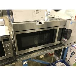 BOSCH STAINLESS STEEL OVERHEAD MICROWAVE WITH FAN AND LIGHT
