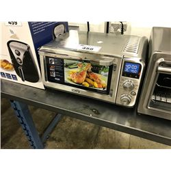 DELONGHI STAINLESS STEEL COMPACT CONVECTION/TOASTER OVEN