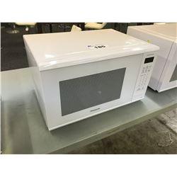 PANASONIC 1100W WHITE MICROWAVE