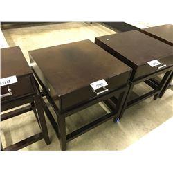 GWYNETH MAHOGANY SIDE TABLE