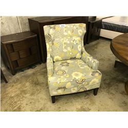 BLOOMING MEADOW PRECEDENT GARBO WINGBACK ARM CHAIR