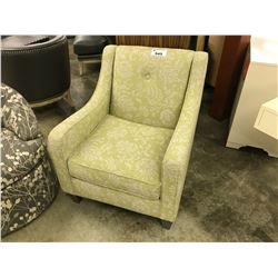 ISABELLA GREEN PATTERN CHAIR