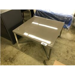 PILOT GREY SQUARE COFFEE TABLE