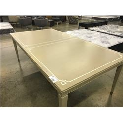 """BERNHARDT SAVOY PLACE CHANTERELLE ADJUSTABLE 88"""" TO 112"""" DINING TABLE - WITH INLAY"""