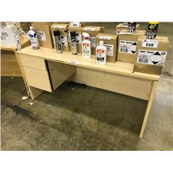 5' MAPLE DESK