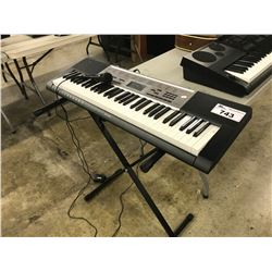 CASIO LK-190 KEYBOARD WITH MICROPHONE AND STAND