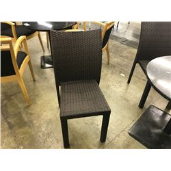 RATTAN STYLE PATIO CHAIR