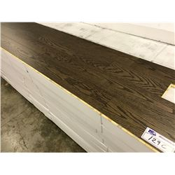 GREAT CANADIAN RED OAK ENGINEERED FLOORING APPROX. 33 BOXES AND 792 SQ. FT.