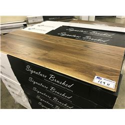 SIGNATURE AMERICAN WALNUT ENGINEERED FLOORING APPROX. 48 BOXES 743 SQ FT
