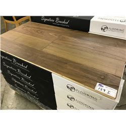 SIGNATURE AMERICAN WALNUT ENGINEERED FLOORING APPROX. 33 BOXES 511 SQ FT