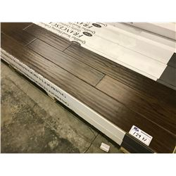 FRANCESCA MODESTO HICKORY ENGINEERED 12MM FLOORING APPROX. 18 BOXES 413 SQ. FT.