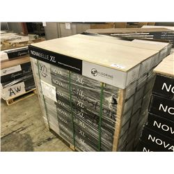 NOVABELLE XL SILVERSTONE OAK ENGINEERED FLOORING APPROX. 45 BOXES, 1098 SQ FT.