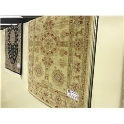 SAND SARUGH ANTIQUE STYLE WOOL CARPET 3.5' X 2.5' GALLERY PRICE $990