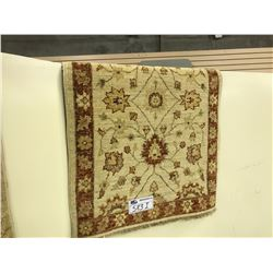 SAND SARUGH ANTIQUE STYLE RUG 3' X 2' GALLERY STYLE $760
