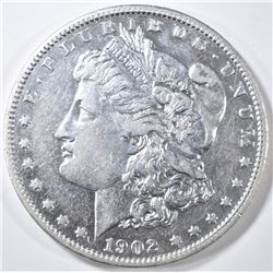 1902-S MORGAN DOLLAR AU