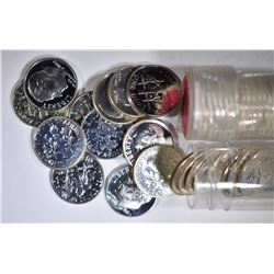 88-SILVER PROOF ROOSEVELT DIMES:
