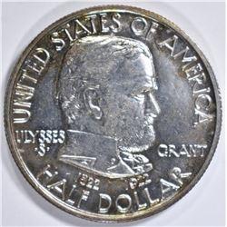 1922 GRANT MEMORIAL HALF DOLLAR  GEM BU